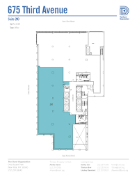 St Thomas Suites Floor Plan by Durst 675 3rd Ave 200 Existing Open V1 Jpg