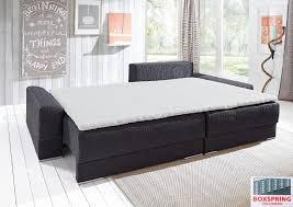 sofa boxspring boxspring sofa mit schlaffunktion mit genial 9119 haus auf der