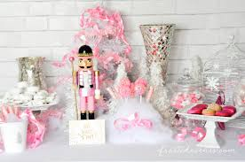 pink christmas the prettiest pink christmas desserts party table
