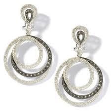 ramona singer earrings buy ramona singer jewelry diamond sterling silver swirl earrings