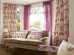 Window Curtains Ideas For Living Room Sweet Window Curtain Design Ideas Pink Color Soft Privyhomes