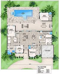 plan 86017bw florida house plan with detached bonus room