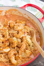 Dinner Ideas With Shrimp And Pasta Shrimp Pasta In Spicy New Orleans Tomato Cream Sauce Recipe