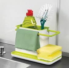 Kitchen Sink Soap And Sponge Holder by Kitchen 3 In 1 Sink Caddy Organizer Kitchen Soap Sponge Holder