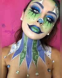 clown halloween makeup popsugar beauty