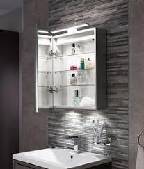 Led Bathroom Cabinet Mirror - angie led aluminium mirrored wall cabinet house ideas