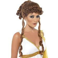Trojan Halloween Costume Helen Troy Greek Trojan Halloween Accessory Wig