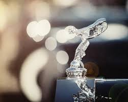 1937 rolls royce flying ornament photograph by russo