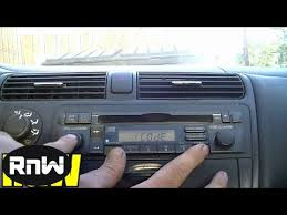 radio serial number honda accord how to get honda radio serial number code and how to enter it
