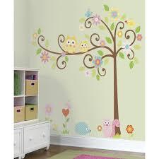 stickers décoration chambre bébé stickers muraux arbre frisé déco chambre enfant