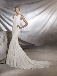 fitted wedding dresses ornani lace wedding dress fitted to the hips