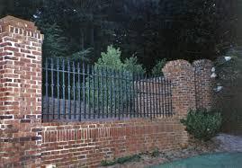 wrought iron and brick jpg 1200 837 front yard pinterest