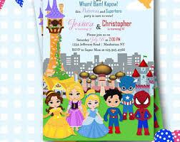superhero princess etsy
