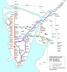 Metro Rail Houston Map by Mumbai Metro Map Online Map