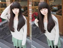nice koran hairstyles cute korean hairstyles for long hair hairstyles for long hair