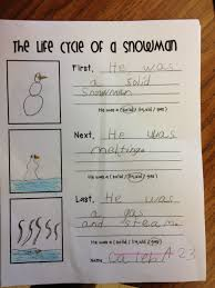 State Of Matter Worksheet Life Cycle Of A Snowman And States Of Matter Classroom Ideas
