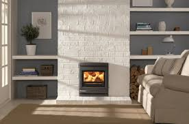 stone wall fireplace binhminh decoration