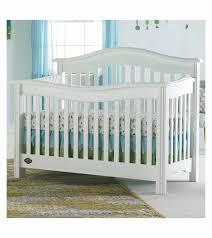 Bonavita Convertible Cribs Bonavita Lifestyle Crib In Classic White
