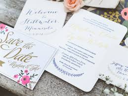 wedding invitation examples wedding corners