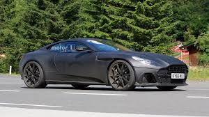 aston martin vanquish matte black aston martin db11 s spied with matte black body lower suspension