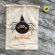 personalized halloween buckets online shop halloween bags cloth halloween buckets 8 design