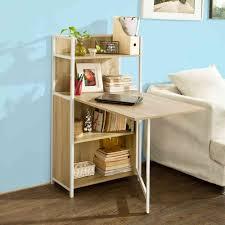 Schreibtisch Mit Computertisch Sobuy Wandschrank Wandklapptisch Bücherschrank Mit Klappbarem