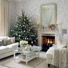 living room purple and gold christmas tree gas fireplace mantels