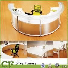 Semi Circular Reception Desk Semi Circle Office Desk For Receptionist Of Half Circular Shape