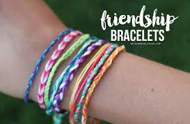 friendship bracelets kid craft monday a and a glue gun