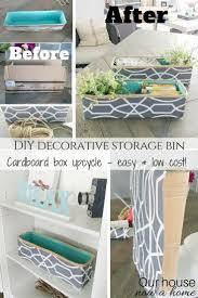 best 25 decorative storage bins ideas on diy bracelet