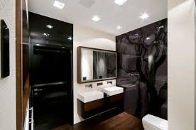 modern bathroom designs for small spaces interior design osirix vanity with double washbasin modern bathroom apartment design for small spaces and wall black