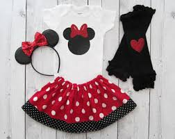 Mouse Halloween Costume Toddler Minnie Mouse Costume Toddler Etsy