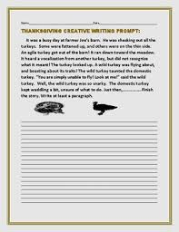 thanksgiving creative writing prompt the turkey v the domestic
