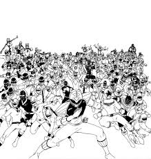 all power rangers coloring pages u2014 allmadecine weddings power