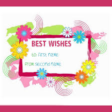 wedding wishes name get your name in beautiful style on best wishes picture you can