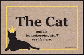 doormat funny funny doormats cat and housekeeping staff coco mats n more