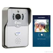 Ring Wi Fi Enabled Video Doorbell by Ebell Hd Wifi Video Doorbell Camera Support Smart Phone Unlock