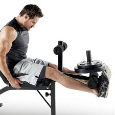 Leg Developer Bench Marcy Olympic Weight Bench With Bar Catches Leg Developer