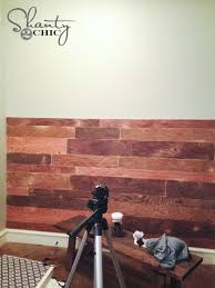 my 100 plank wall shanty 2 chic
