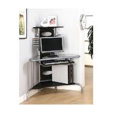 desk cheap corner computer desk with hutch glass corner computer