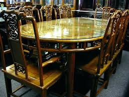 shaped dining table rosewood dining room set oval shaped dining table rosewood dining