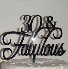 40 cake topper 50 fabulous cake topper