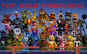 a fnaf world thanksgiving by kingbooproductionsda on deviantart