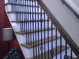 engaging decorating house as wells as basement stair railing ideas
