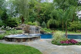 Backyard Landscaping Ideas With Above Ground Pool Pool Landscaping Ideas With Rocks Pool Landscaping Ideas Arizona