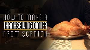 thanksgiving dinner intro how to make everything thanksgiving