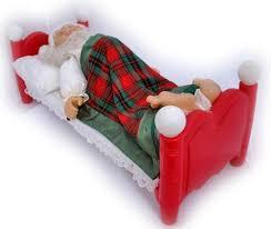Vintage Animated Christmas Decorations by Vintage Christmas Sleeping Santa Claus Animated Talking Snoring