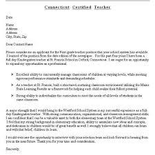 Resume Sample Kindergarten Teacher by Proper Writing A Cover Letter For Resume U2013 Letter Format Writing