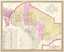 Washington Dc Maps Impressions Of Washington U201can Overgrown Tattered Village