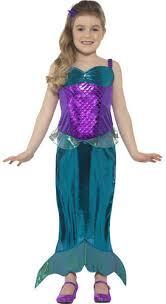 kids costumes mermaid princess fancy dress fairy tale book week childrens